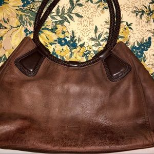 Kenneth Cole New York brown leather bag purse